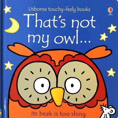 Usborne Books That's Not My Owl
