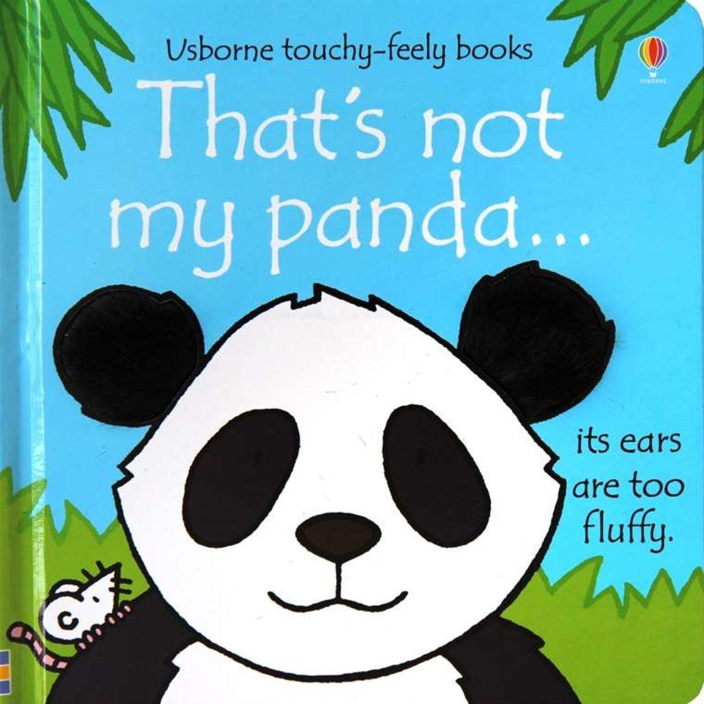 Usborne Books That's Not My Panda