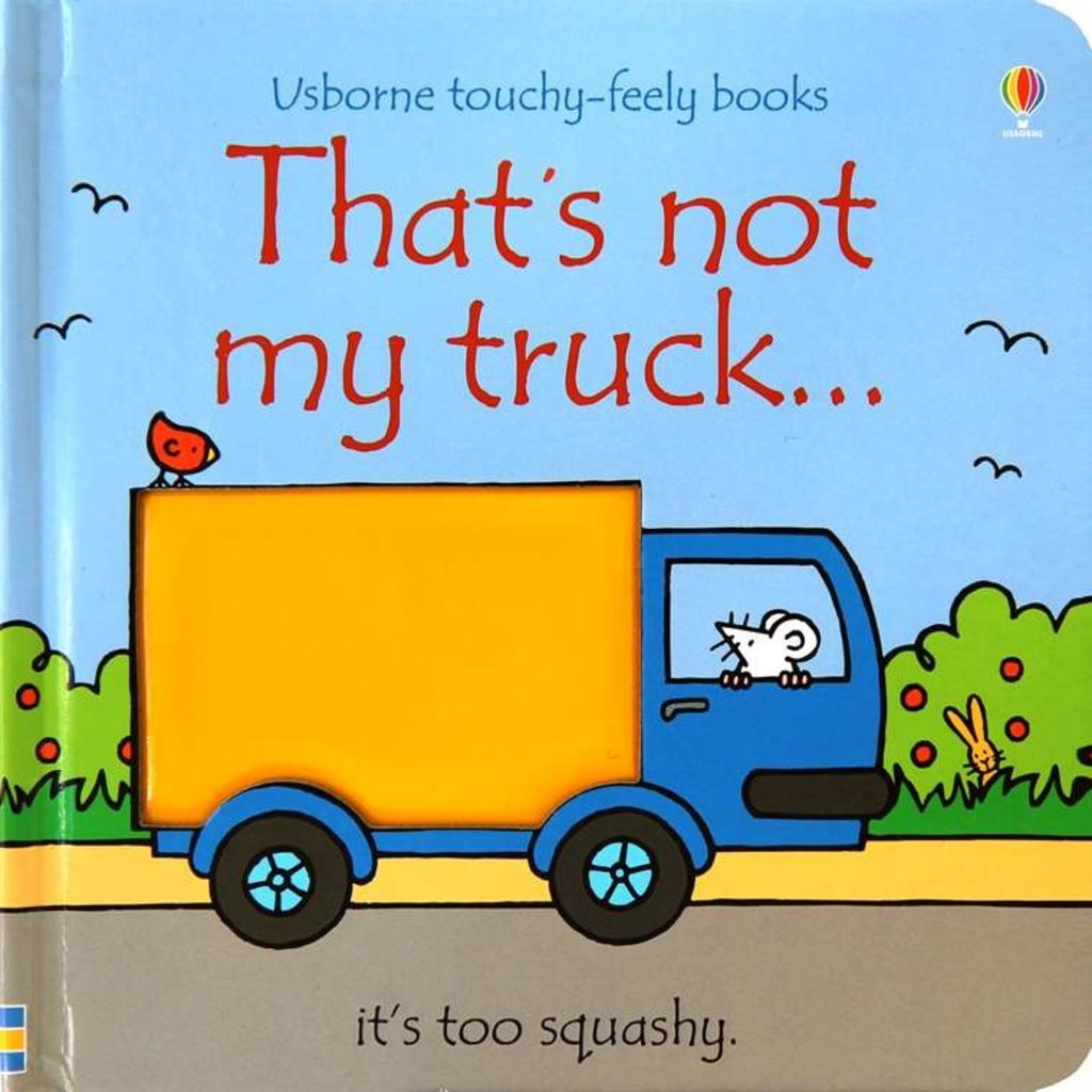 Usborne Books That's Not My Truck