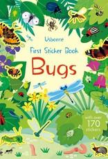 Usborne Books First Sticker Book, Bugs (IR)