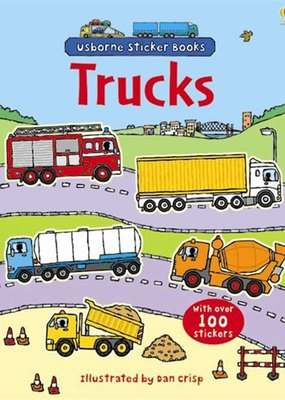 Usborne Books First Sticker Book, Trucks