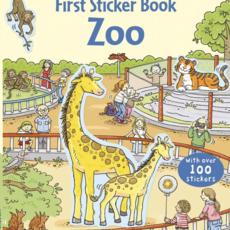 Usborne Books First Sticker Book, Zoo