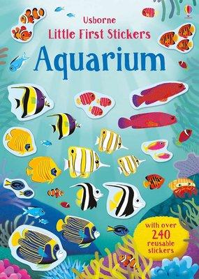 Usborne Books Little Stickers Aquarium