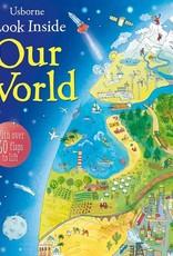 Usborne Books Look Inside Our World (IR)