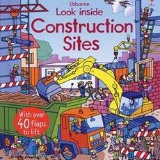 Usborne Books Look Inside Construction Sites (IR)
