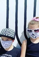 Pink Peony Kids K1 Children's Puppy Party Mask