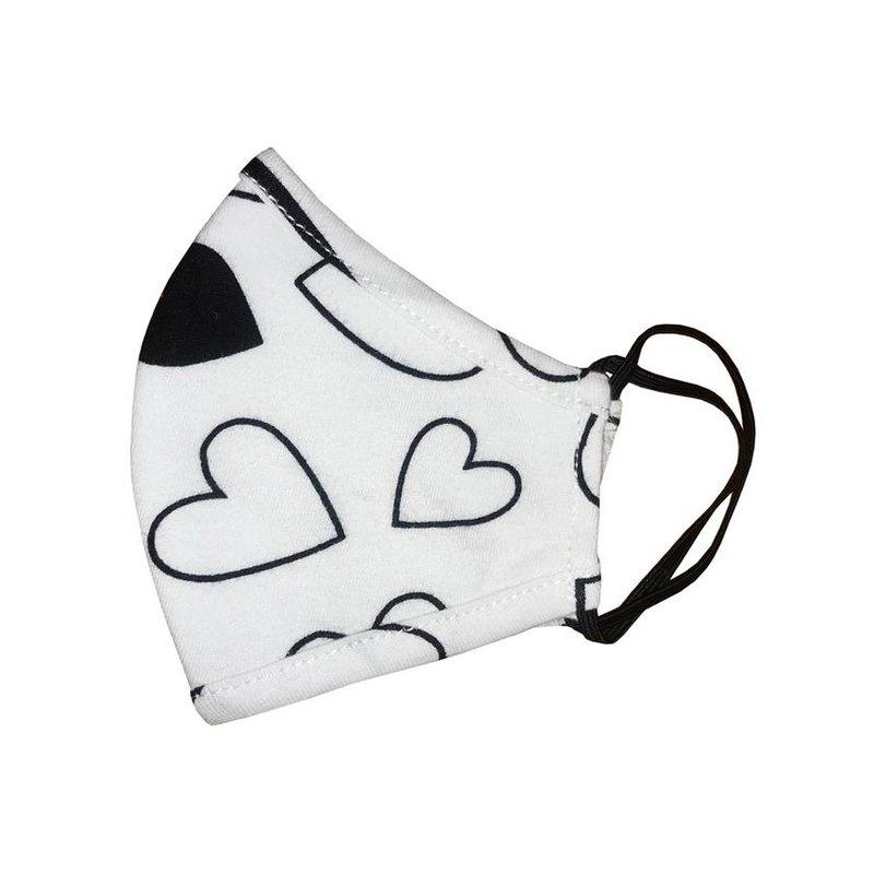 Pink Peony Kids K1 Children's Confetti Love Mask