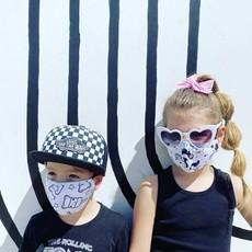 Pink Peony Kids K2 Children's Rainbow Smiles Mask