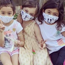 Pink Peony Kids K1 Children's Dragonfly Dream Mask