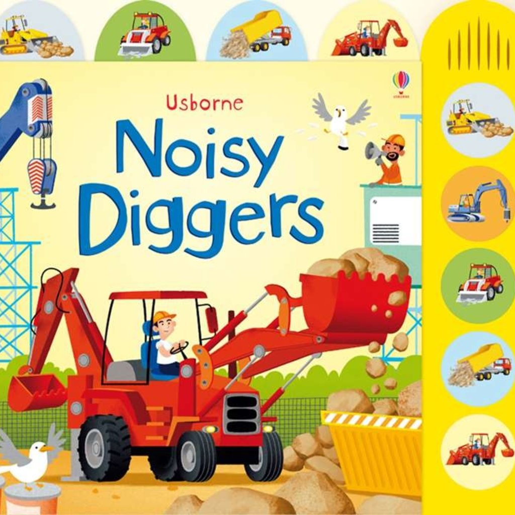 Usborne Books Noisy Diggers