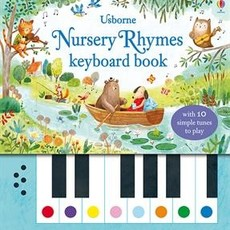 Usborne Books Nursery Rhymes Keyboard Book (IR)