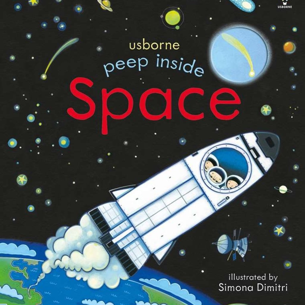 Usborne Books Peek Inside Space