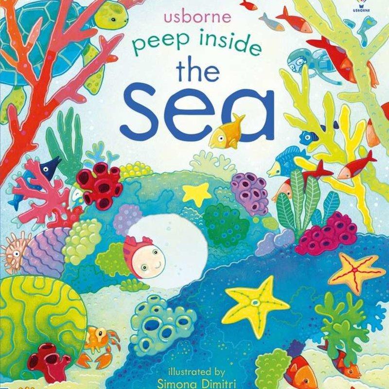 Usborne Books Peek Inside the Sea