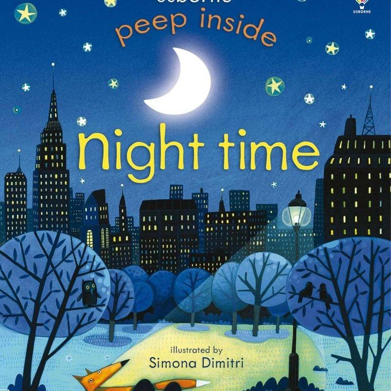 Usborne Books Peek Inside Nighttime