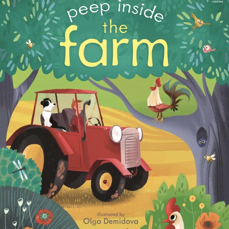 Usborne Books Peek Inside the Farm