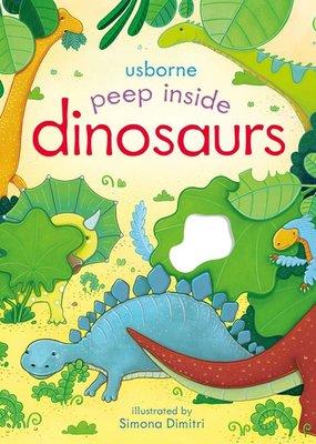 Usborne Books Peek Inside Dinosaurs