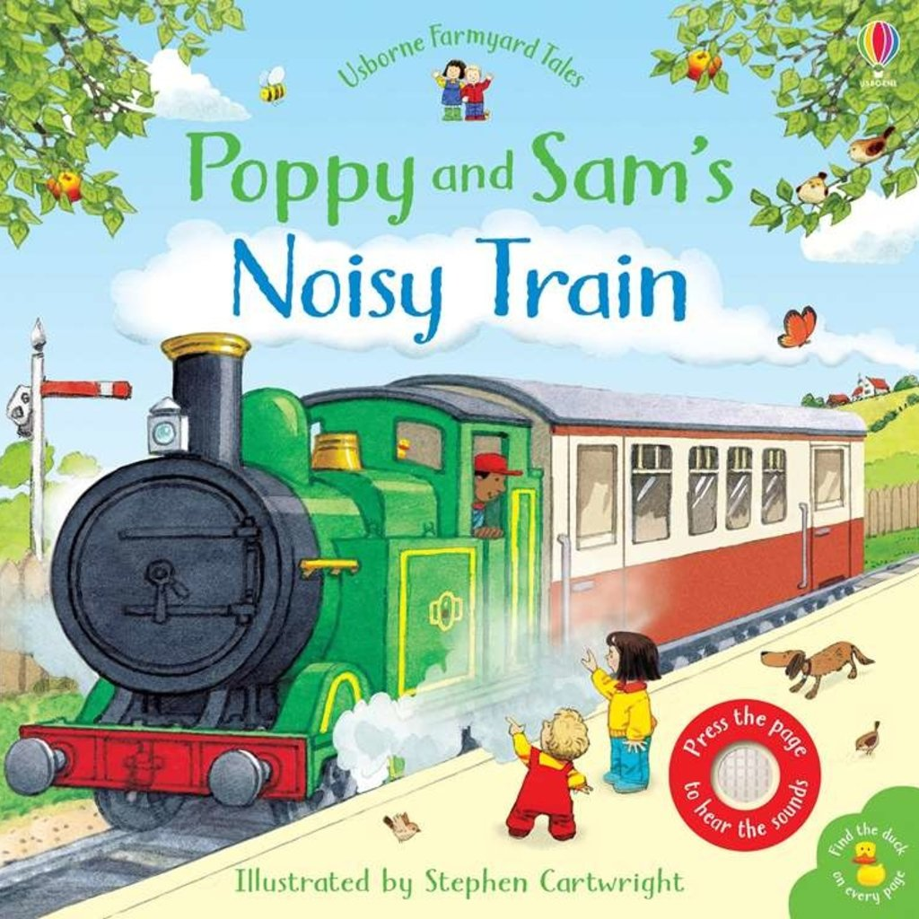Usborne Books Poppy and Sam's Noisy Train
