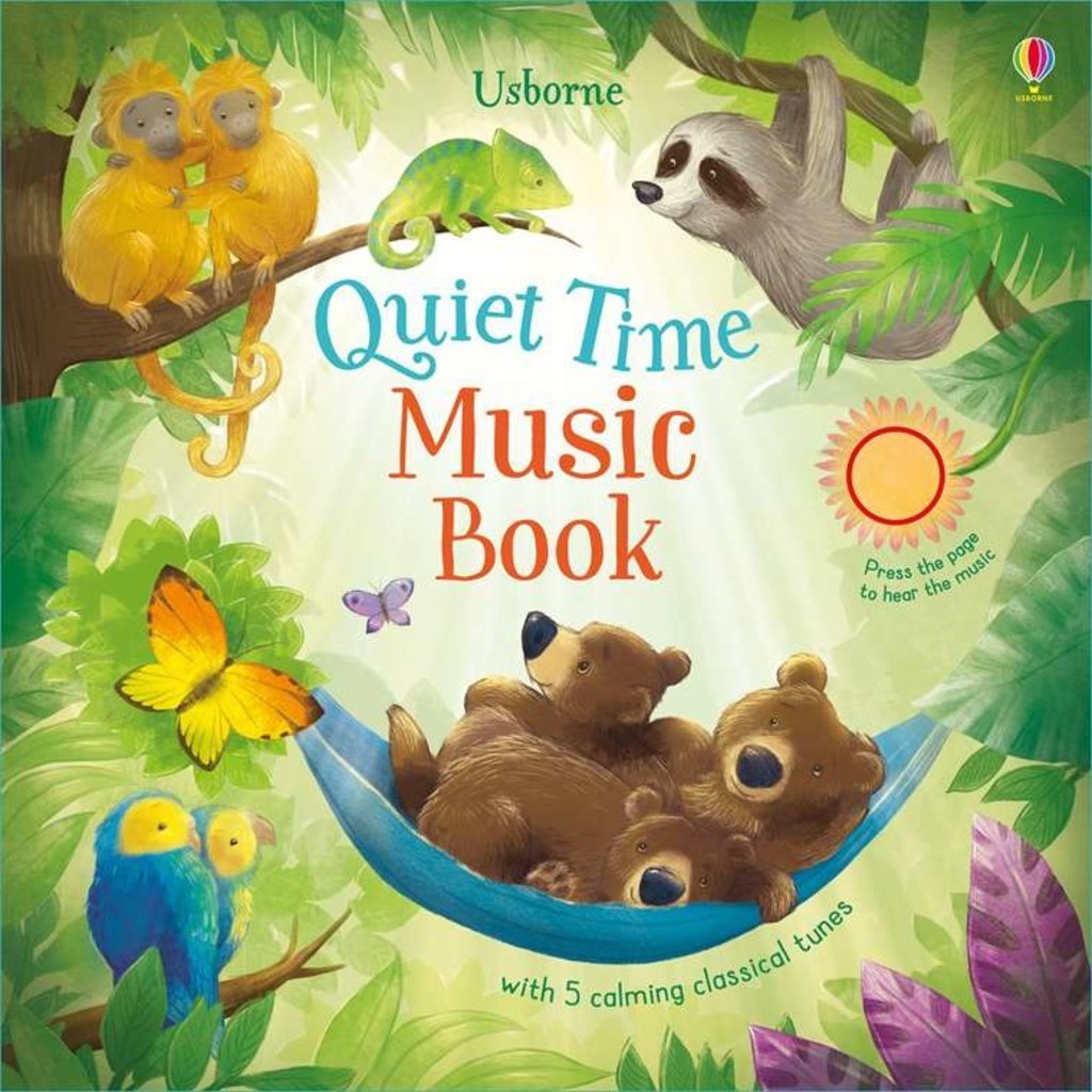 Usborne Books Quiet Time Music Book