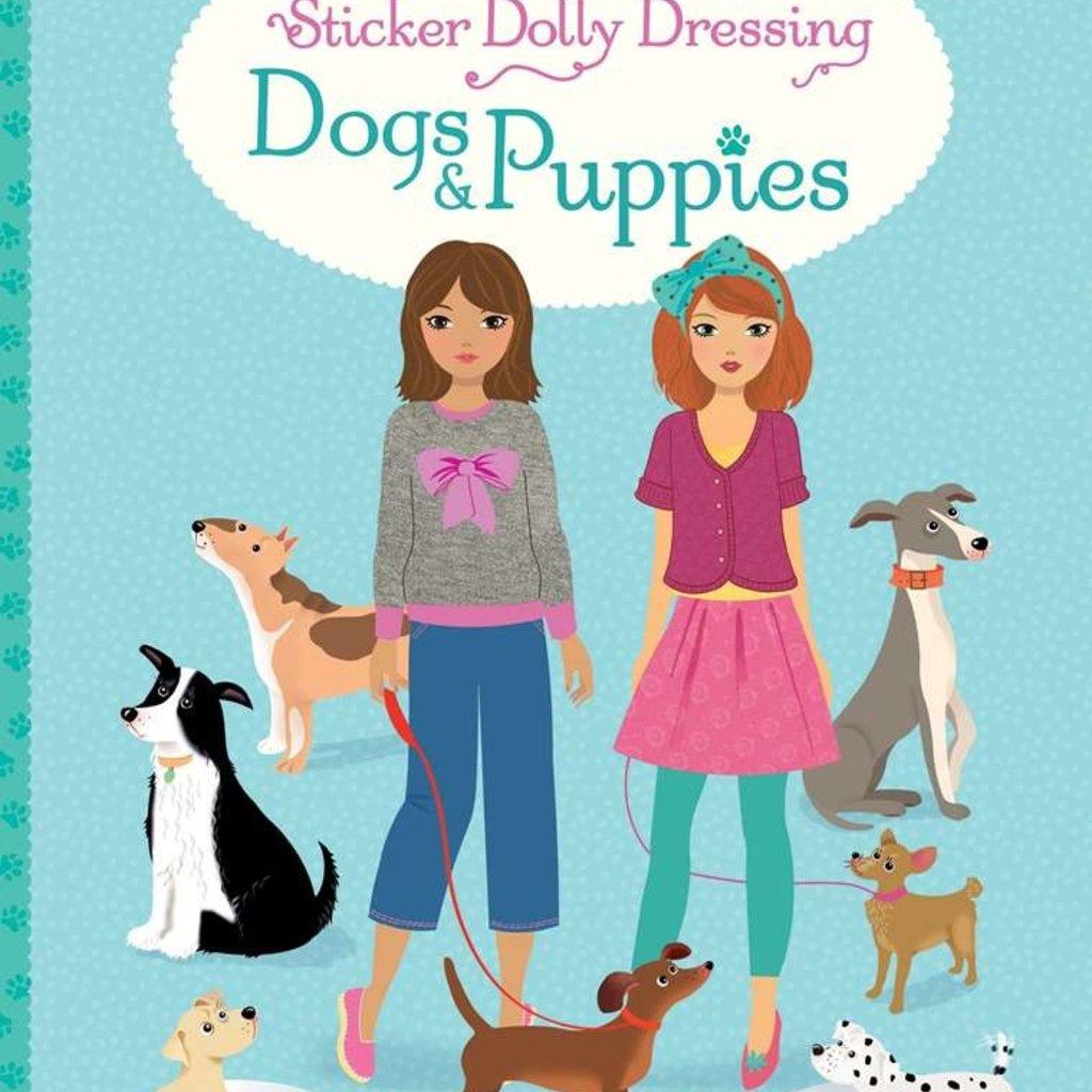 Usborne Books Sticker Dolly Dressing Dogs & Puppies