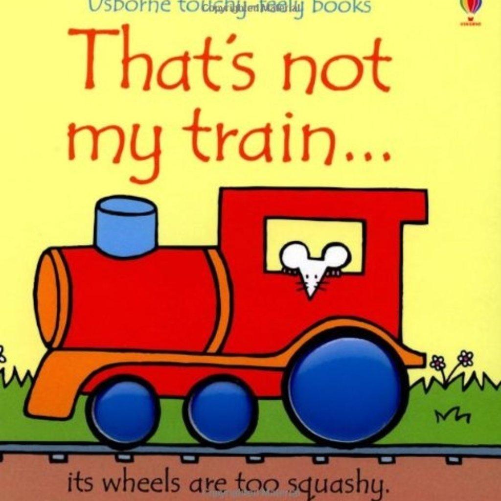 Usborne Books That's Not My Train