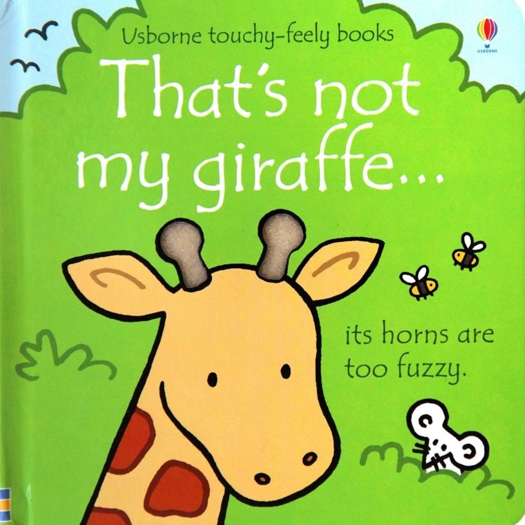 Usborne Books That's Not My Giraffe