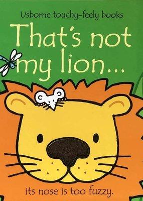 Usborne Books That's Not My Lion