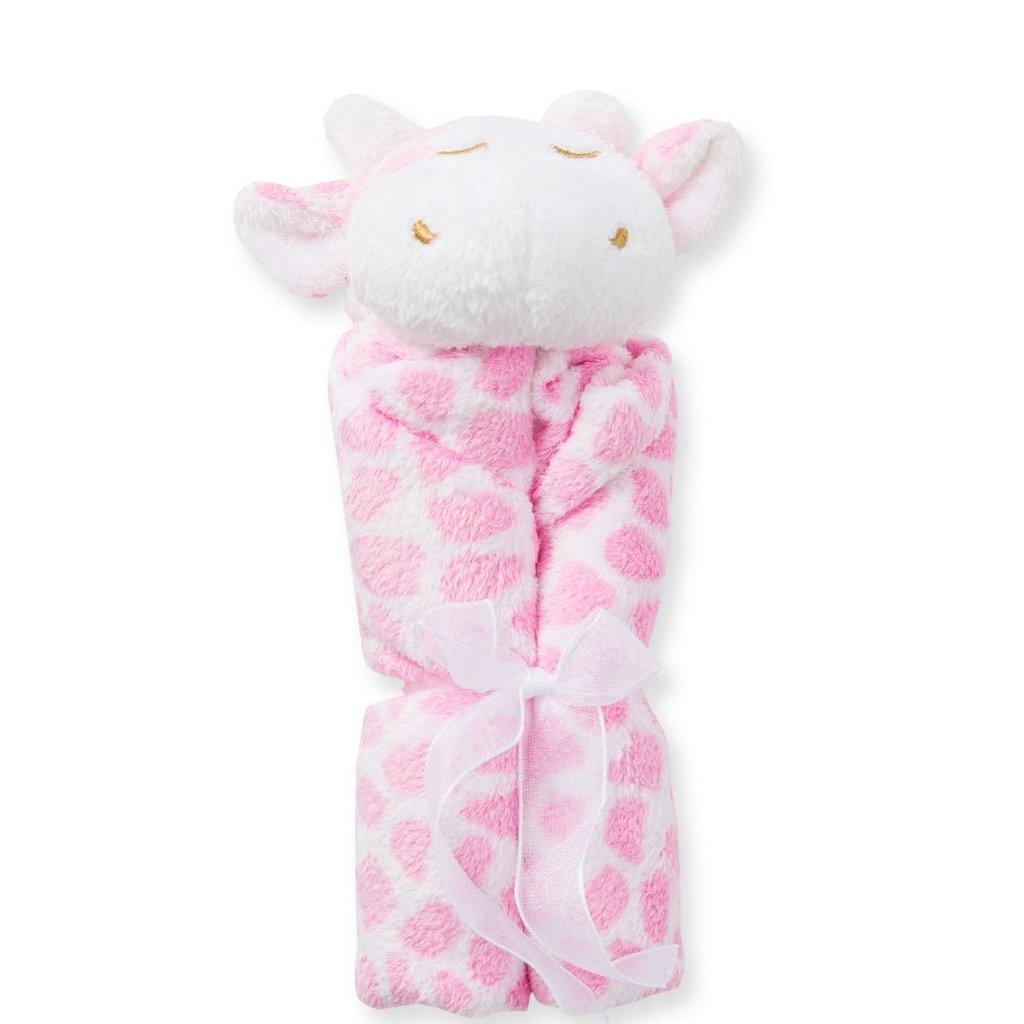 Angel Dear Pink Giraffe Blankie