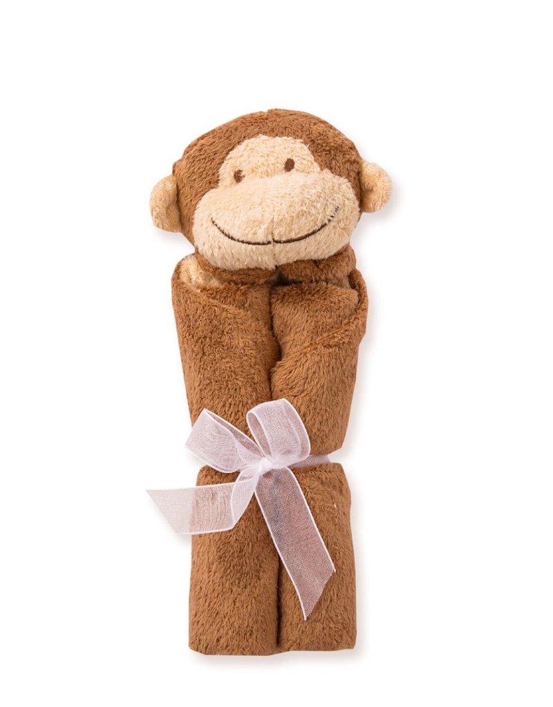 Angel Dear Brown Monkey Blankie