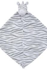 Angel Dear Grey Zebra Blankie