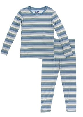 Oceanography Stripe PJ Set