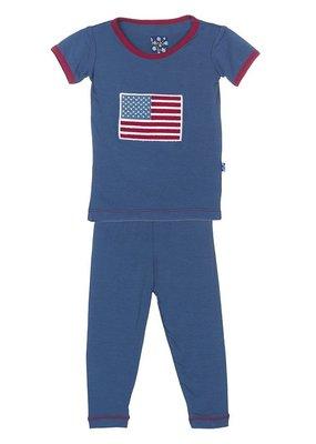 Twilight American Flag PJ Set