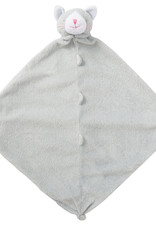 Angel Dear Grey Kittie Blankie