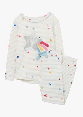 Little Joule Blue Star Pajama Set