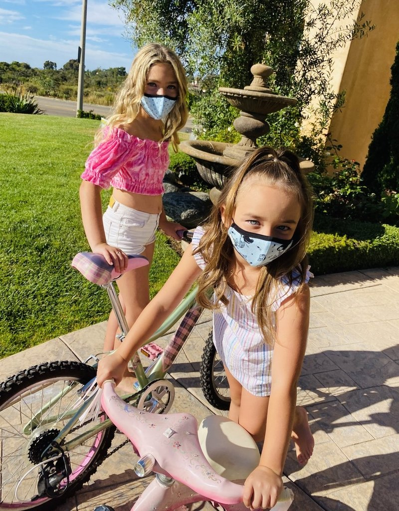 Pink Peony Kids K1 Children's Pink Popsicles Mask