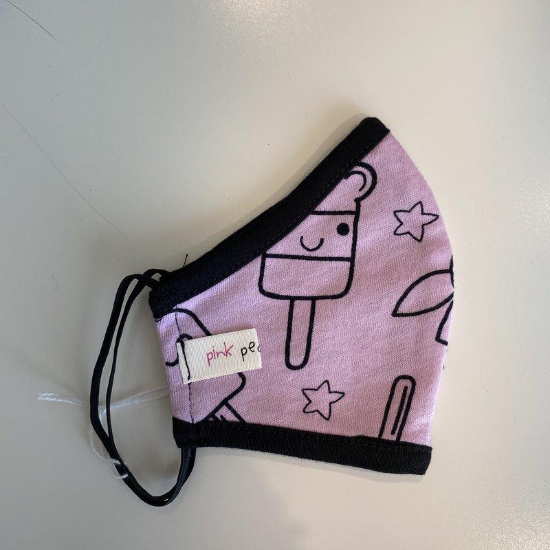 Pink Peony Kids K2 Children's Pink Popsicles Mask