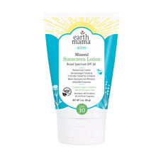 Earth Mama Kids Mineral Sunscreen Lotion SPF 30