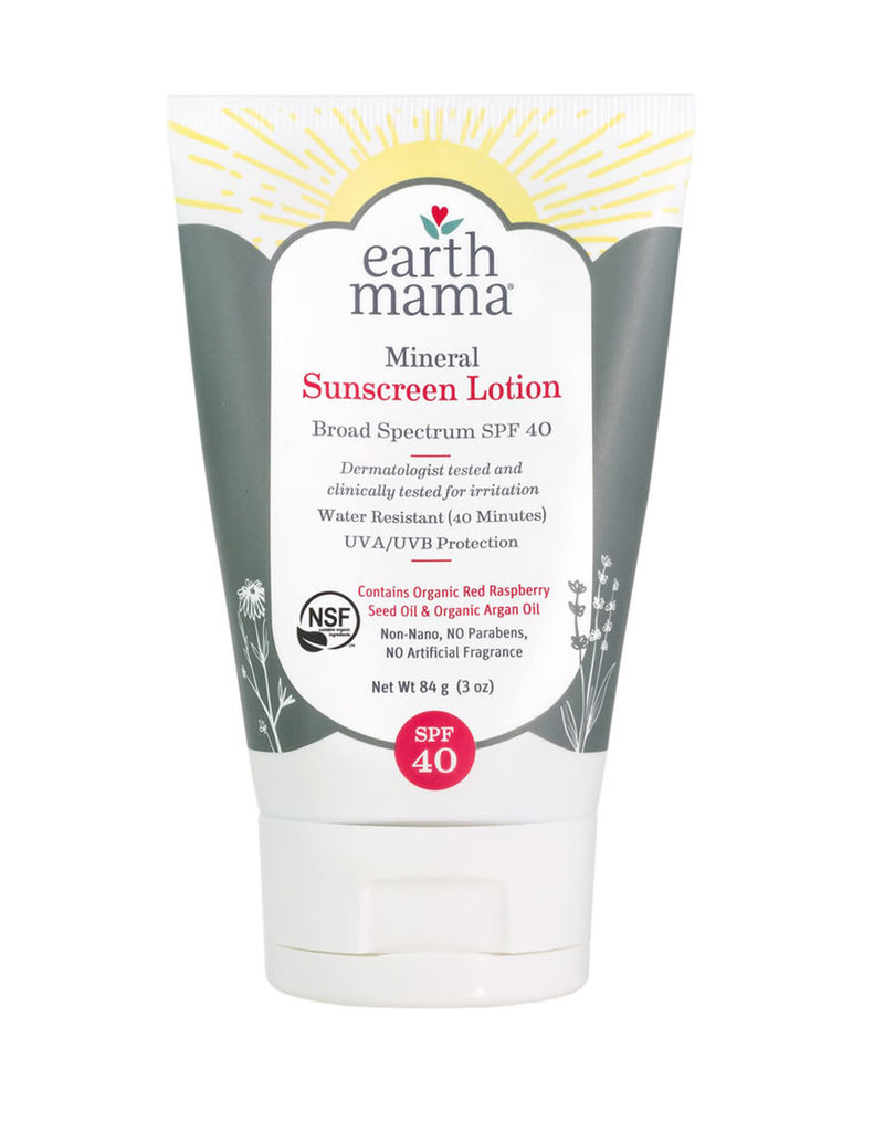 Earth Mama Mineral Sunscreen Lotion SPF 40