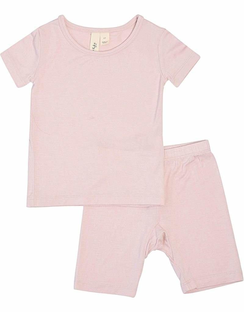 Kyte Baby Blush Short Sleeve Toddler Pajama