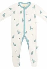 Kyte Baby Alpaca Printed Footie