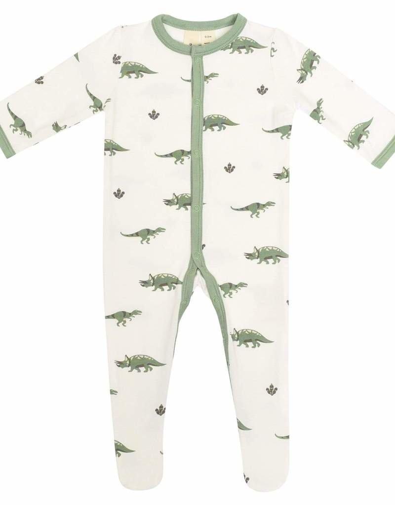 Kyte Baby Dino Printed Footie