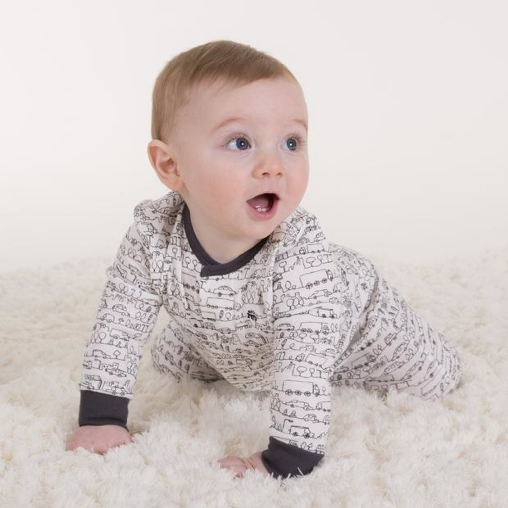 Magnificent Baby Going Places Footie