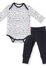 Magnificent Baby Going Places Bodysuit and Pant