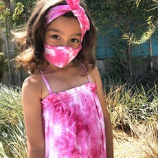 Pink Peony Kids K2 Children's Pink Tie Dye