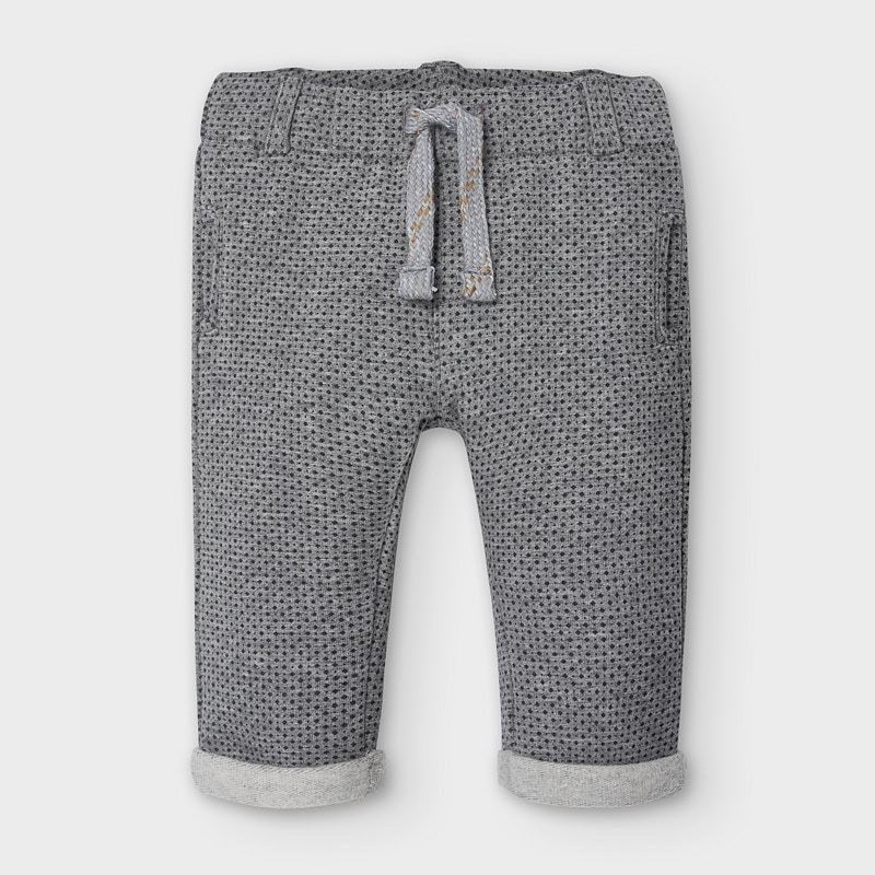 Mayoral USA Grey Dark Dot Pant