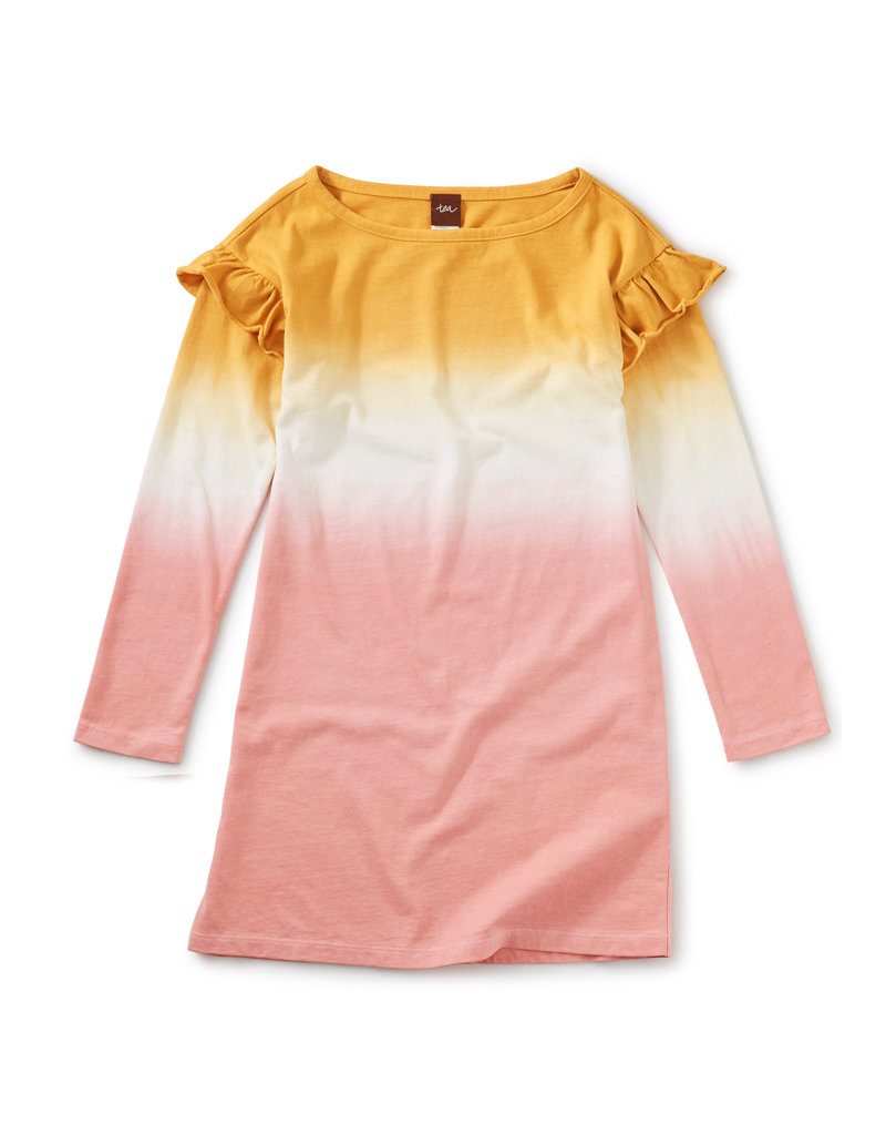 Tea Collection Dip Dye Ruffle Dress