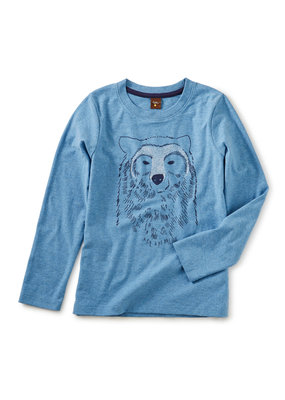 Tea Collection Bear Buddy Graphic Tee