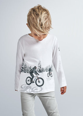 Mayoral USA Reflective Fat Tire Tee