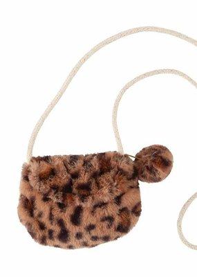 Mud Pie Brown Leopard Purse
