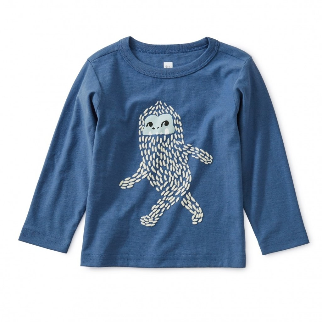 Tea Collection Baby Yeti Storytelling Tee