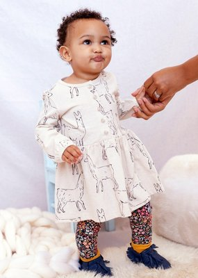 Tea Collection Button Front Baby Dress